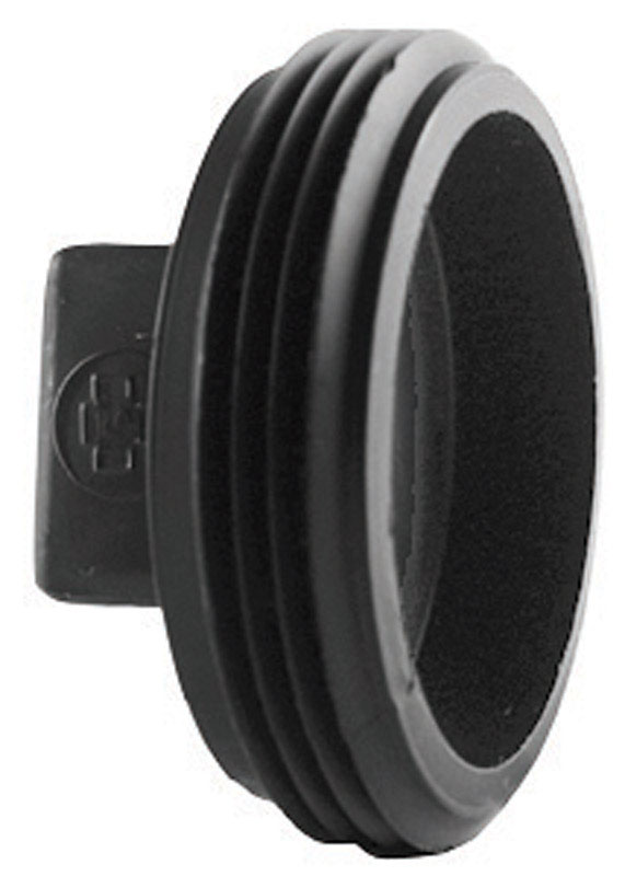 Charlotte Pipe  1-1/2 in. MPT   x 1-1/2 in. Dia. MPT  Plug