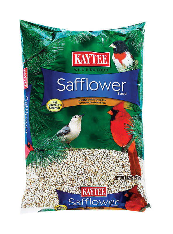Kaytee  Assorted Species  Wild Bird Food  Safflower Seeds  5 lb.