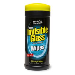 Stoner Invisible Glass Auto Glass Cleaner Wipes 28 wipes