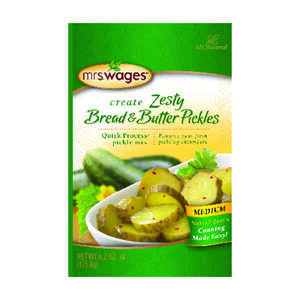 Mrs. Wages  Zesty Bread and Butter Pickle Mix  1 pk 6.2 oz.