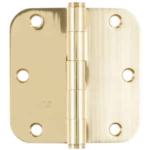 Ace  3-1/2 in. L Brass  Residential Door Hinge  1 pk