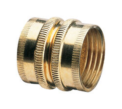 Gilmour  3/4 in. Brass  Threaded  Double Female  Swivel Hose Connector