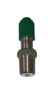 Campbell  1/8 in. Dia. x 1/8 in. Dia. Brass  1/8 in. Snifter Air Valve  MIP  Threaded