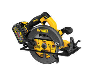 DeWalt  FLEXVOLT  7-1/4 in. Cordless  60 volt Circular Saw with Brake  Kit  5800 rpm