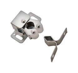 Amerock  1 1/8 in. W Zinc  Steel  Roller Catch