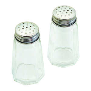 Good Cook  Clear  Salt and Pepper Shakers