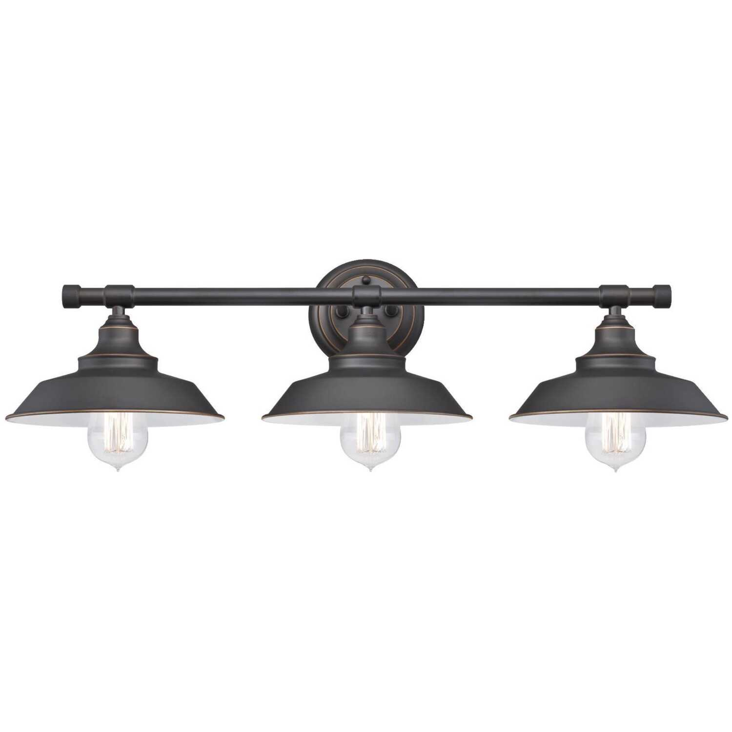 Westinghouse  Oil Rubbed Bronze  3 lights Wall Sconce