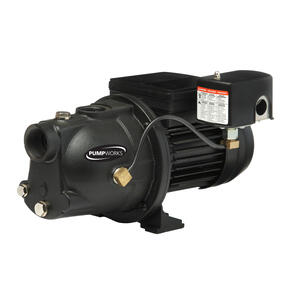 Pump Works  1/2 hp 9.8 GPM  Cast Iron  Shallow Well Jet Pump
