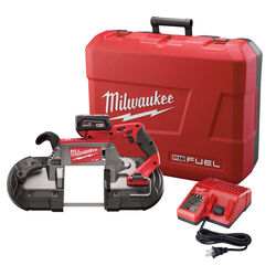 Milwaukee M18 FUEL 18 volt Cordless Band Saw Kit Kit (Battery & Charger)