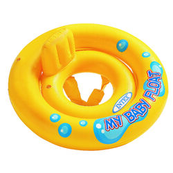 Intex  Yellow  Vinyl  Inflatable Baby Float