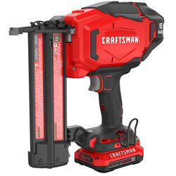 Craftsman  20V MAX  Cordless  18 Ga. Brad Nailer  Kit