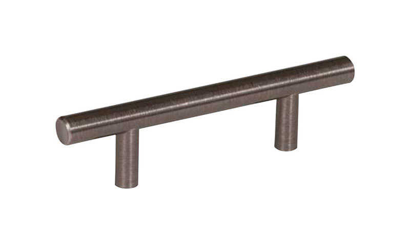 Amerock  Bar Pulls Collection  Cabinet Pull  Gunmetal  1 pk