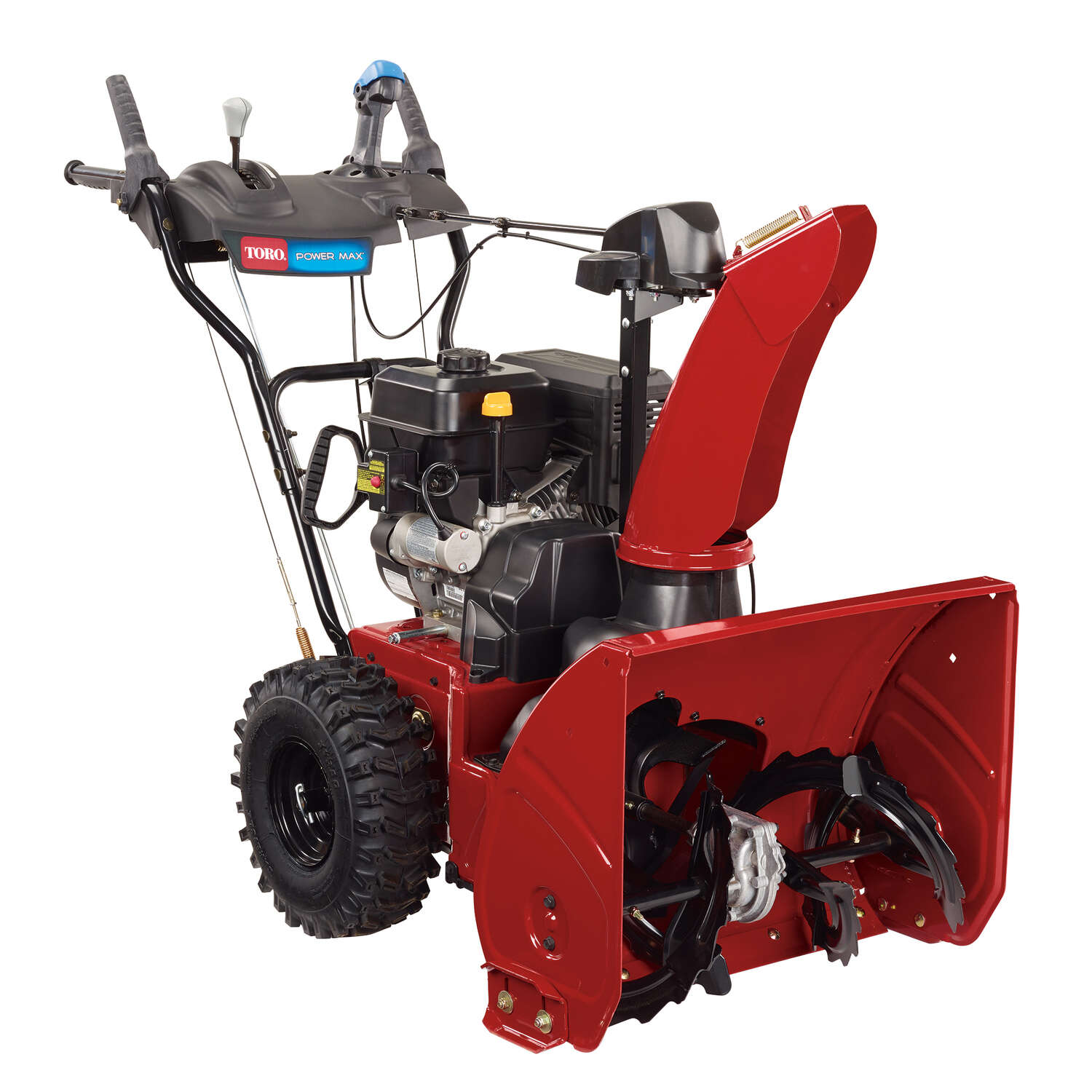 Toro  Power Max  24 in. W 252 cc Two-Stage  Electric Start  Gas  Snow Thrower