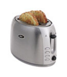 Oster  Stainless Steel  Silver  2 slot Toaster  11.61 in. H x 7.28 in. W x 12 in. D