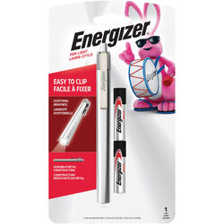 Energizer  35 lumens Gray  LED  Pen Light  AAA Battery