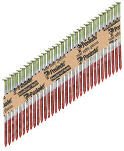 Paslode  RounDrive  30  18 Ga. Smooth Shank  Straight Strip  Framing Nails  3-1/4 in. L x 0.11 in. D