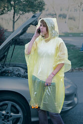 Boulder Creek  PVC  Emergency Poncho