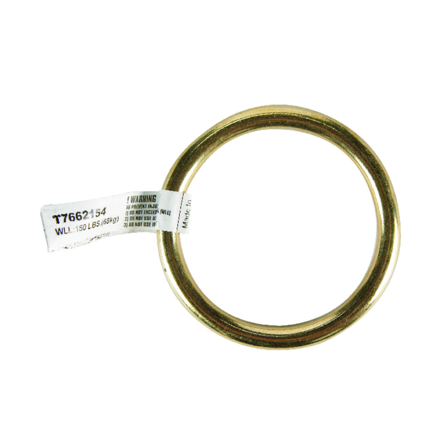 Campbell Chain  Polished  Solid Bronze  Solid Ring  150 lb. 2 in. L