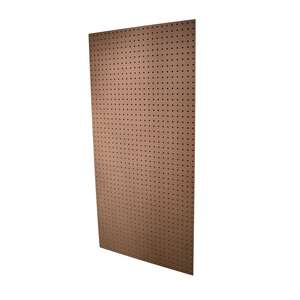 American Wood Moulding  2 ft. W x 4 ft. L x 3/16 in.  Peg Board  Medium Fiber Board (MDF)