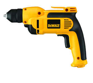 DeWalt  3/8 in. Keyless  VSR Corded Drill  Bare Tool  8 amps 2500 rpm