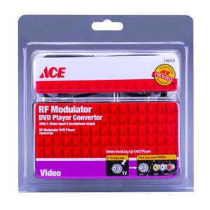 Ace  DVD Player Converter RF Modulator  1 pk