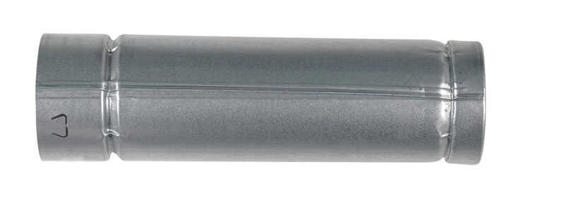 Selkirk  3 in. Dia. x 12 in. L Aluminum  Round Gas Vent Pipe