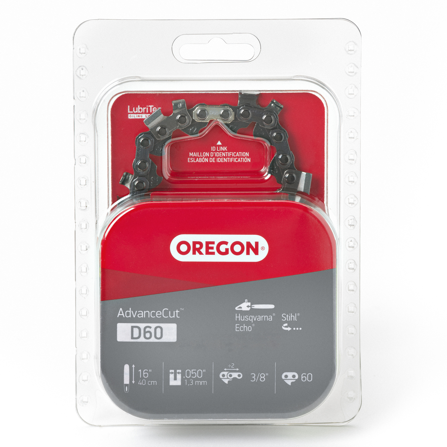 Oregon  16 in. L 60 links Chainsaw Chain