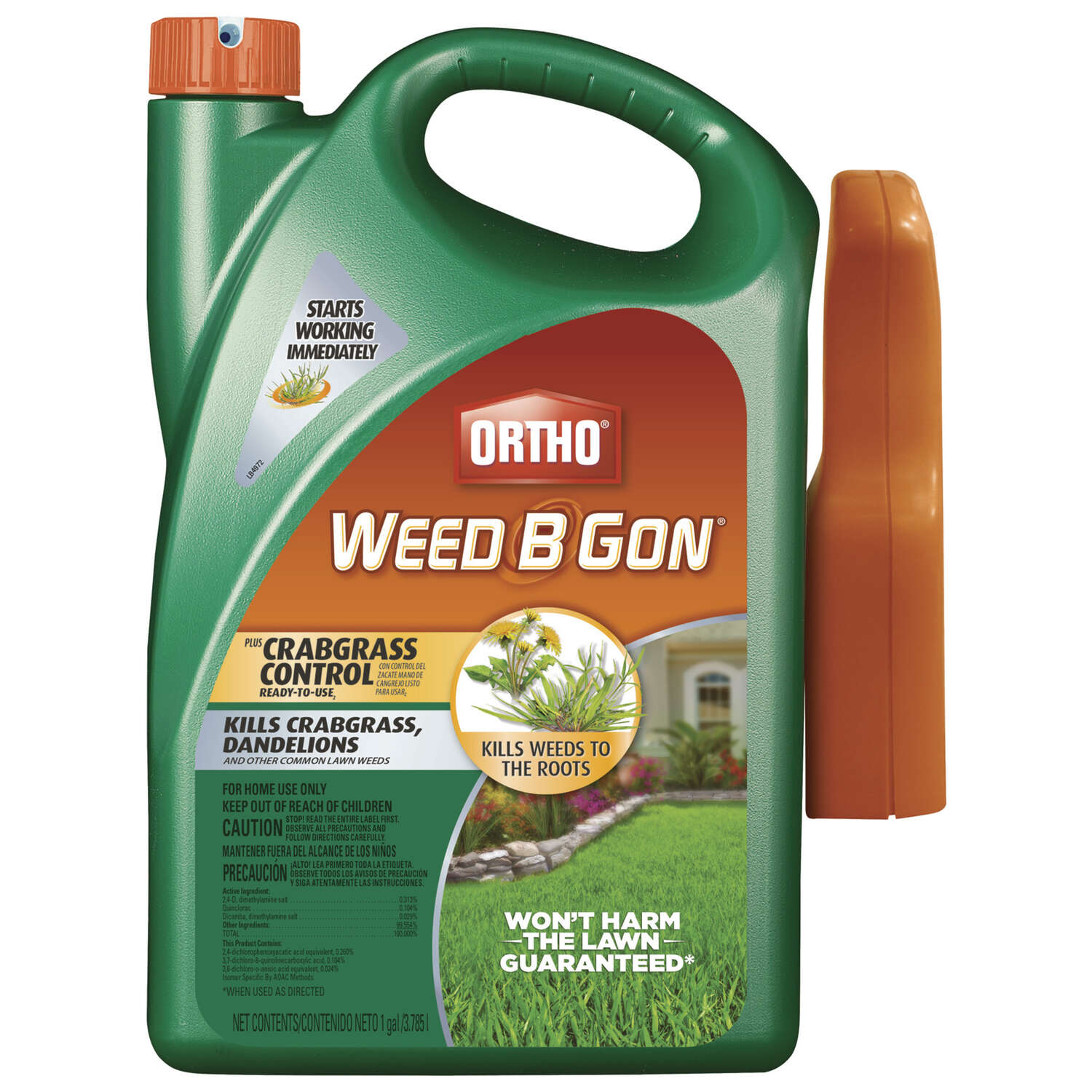 Ortho  Weed B Gon Max  RTU Liquid  Weed and Crabgrass Killer  1 gal.