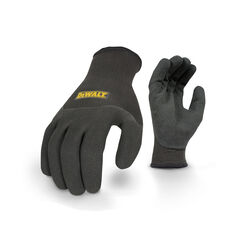 DeWalt  Radians  Unisex  Knit  Thermal Fit  Gloves  Black  L  1 pk