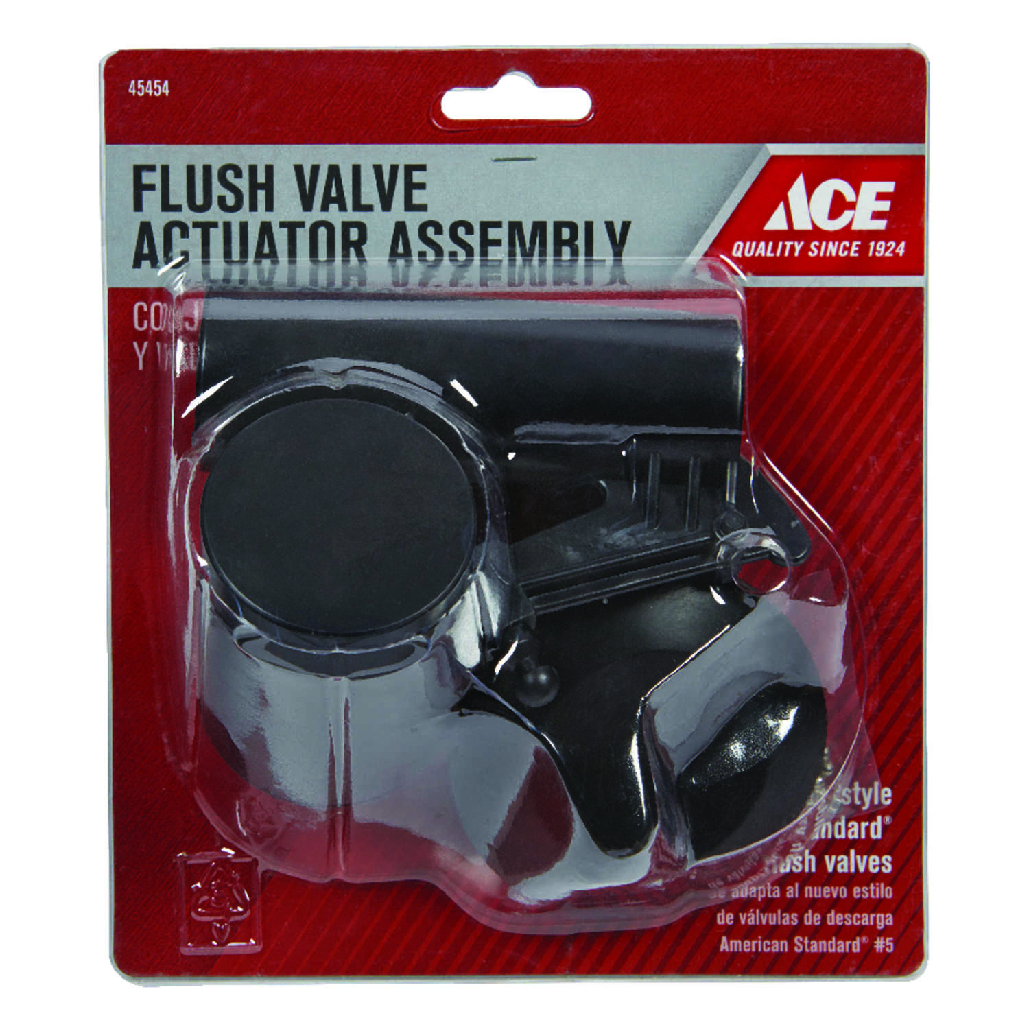 Ace  Flush Valve Actuator Assembly  Stainless Steel