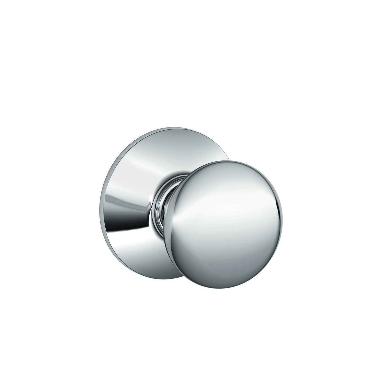Schlage  Plymouth  Bright Chrome  Brass  Passage Door Knob  2 Grade Right or Left Handed