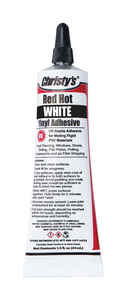 Christys  Red Hot  White  Adhesive  For PVC/Vinyl 1.5 oz.