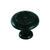 Amerock  Inspirations  Round  Cabinet Knob  1-1/4 in. Dia. 1-1/16 in. Black  1 pk