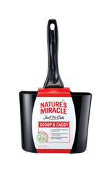 Nature's Miracle  Plastic  Black  Cat Litter Scoop  1 pk