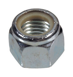 Hillman M6-1.00 mm Zinc-Plated Steel Metric Nylon Lock Nut 50 pk