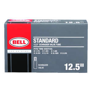 Bell Sports  Standard  Rubber  12.5 x 1.75 - 2.25  Bike Tube  1 pk