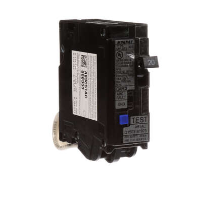 SIEMENS  20 amps Combination  Single  Arc Fault Breaker
