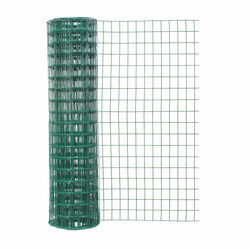 Garden Craft 48 in. H x 50 ft. L Steel Garden Fence Green