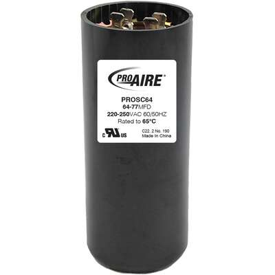 Perfect Aire  ProAire  64-77 MFD  Round Start Capacitor