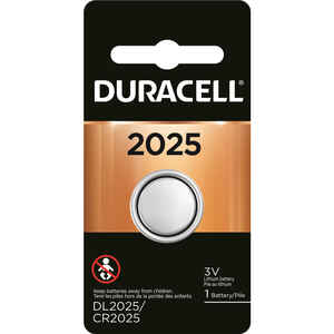 Duracell  Lithium  2025  Medical Battery  3 volt 1 pk