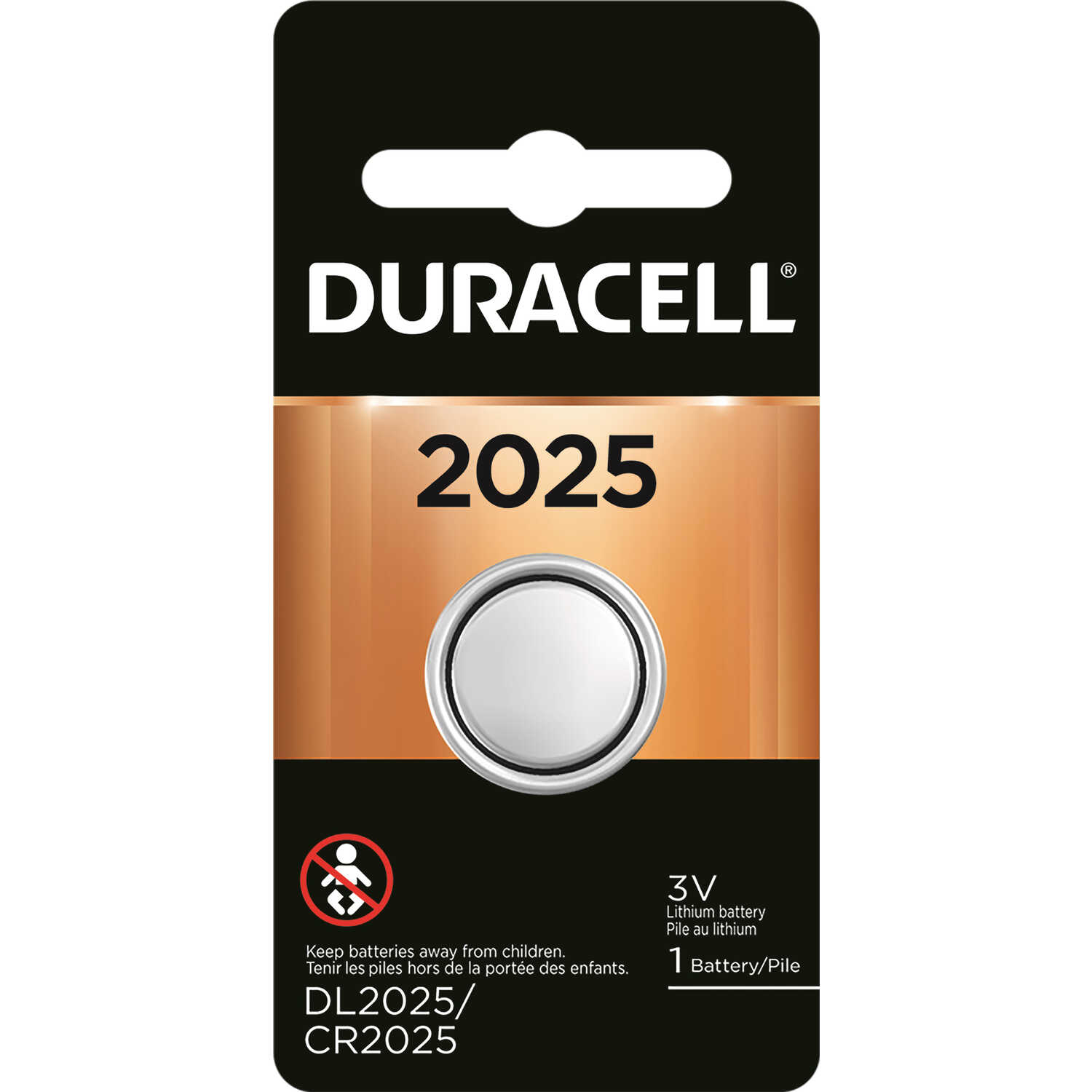 Duracell  Lithium  2025  3 volt Medical Battery  1 pk