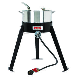 Bayou Classic  Stainless Steel  Deep Fryer  10 qt.