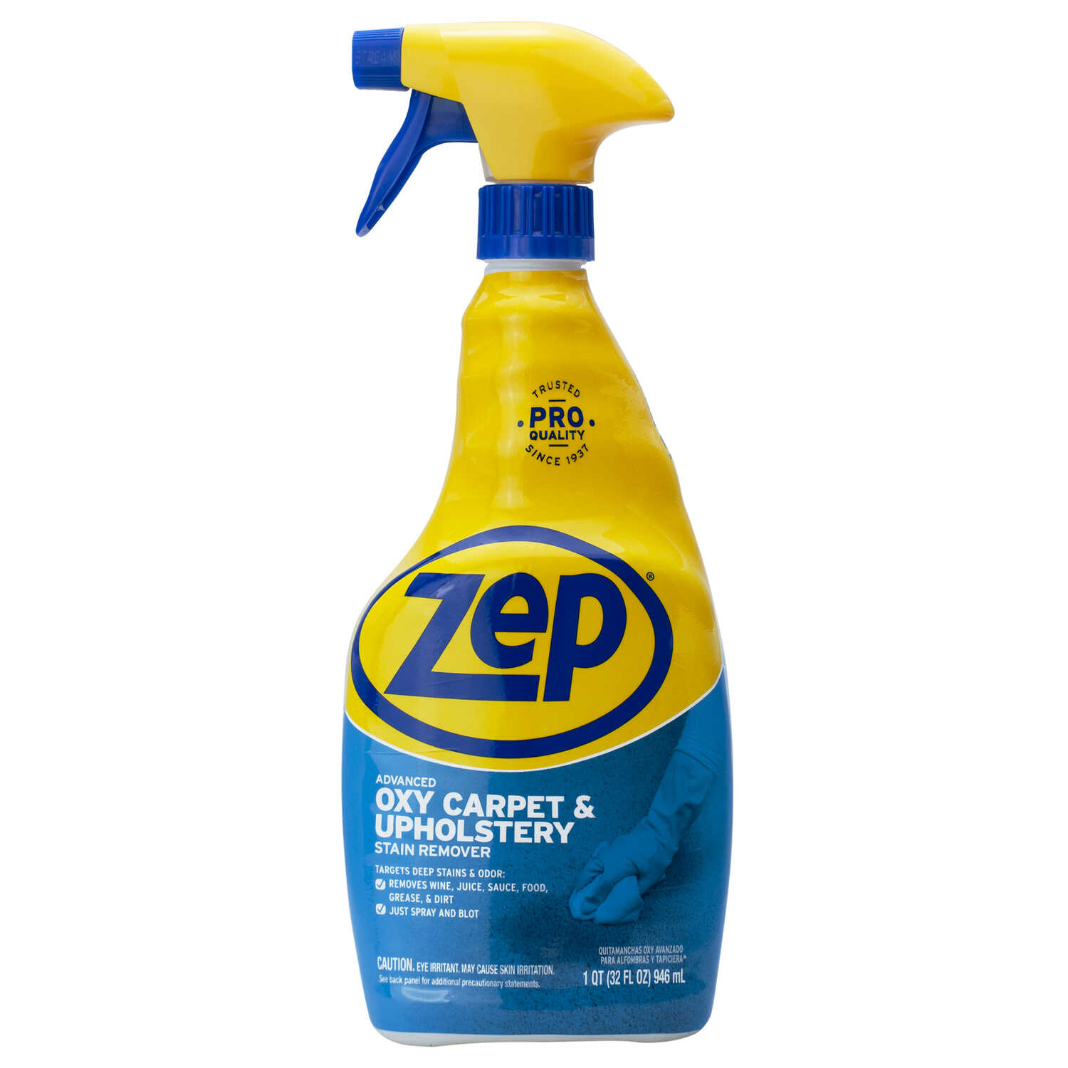 Zep  Commercial  Pleasant Scent Stain Remover  21 oz. Liquid