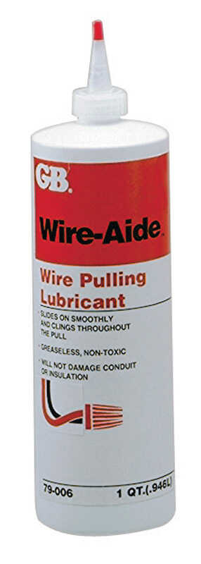 Gardner Bender  Wire-Aide  General Purpose  Wire Pulling Lubricant  32 oz.