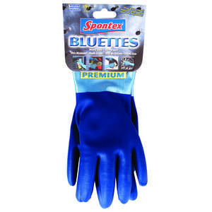 Spontex  Neoprene  Gloves  XL  Blue  1 pk