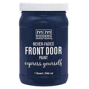 Modern Masters  Satin  Peaceful  Front Door Paint  1 qt.