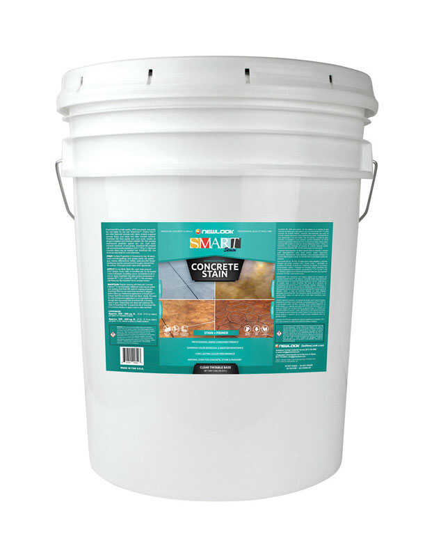 NewLook  SmartStain  Clear  Acrylic  Concrete Stain  For Concrete/Masonry 5 gal.