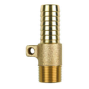 Campbell  Red Brass  Rope Adapter  1 in.  x 4 in. L
