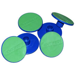 Centipede  Non-Slip Surface Pads  Blue/Green  6 pk