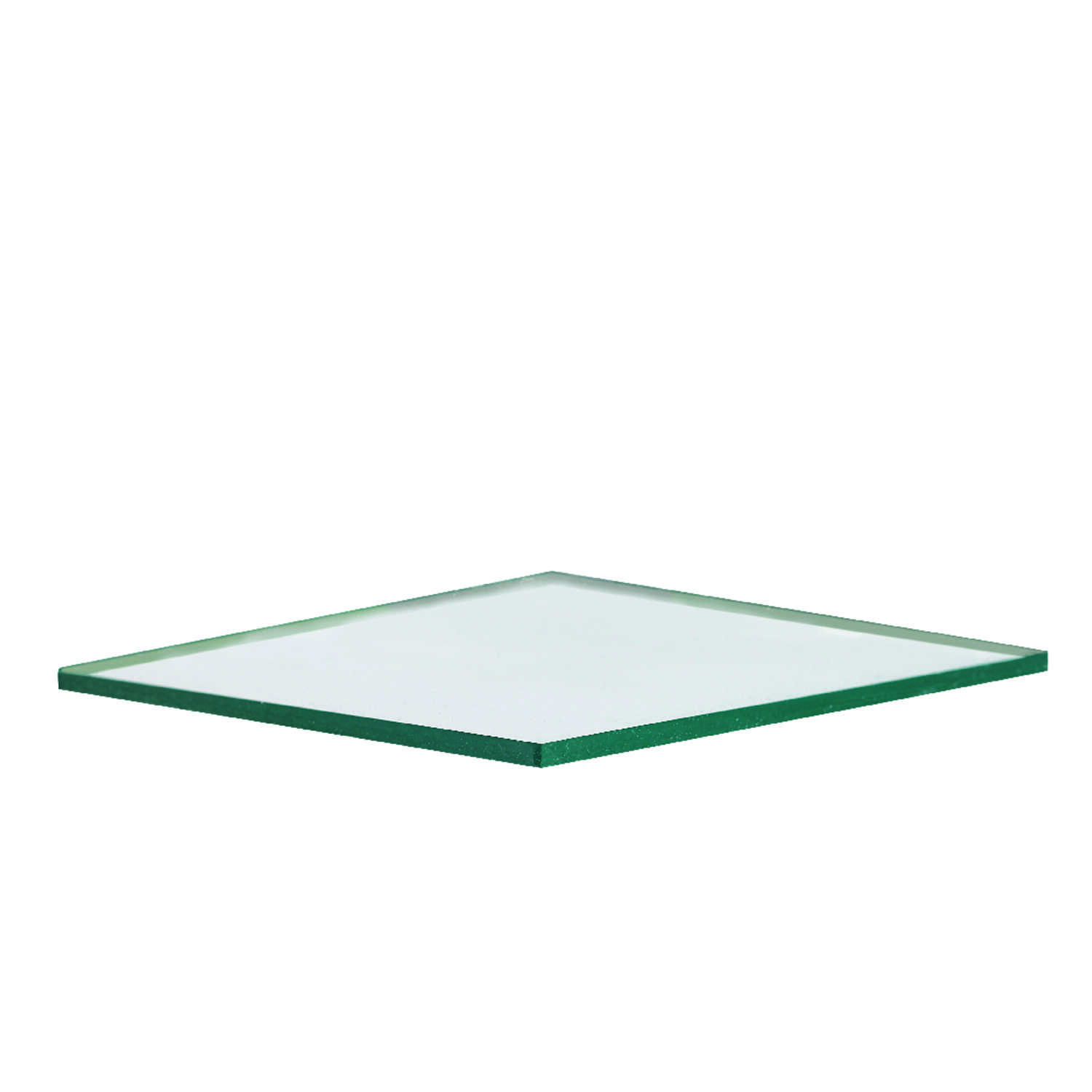 Aetna Glass  Clear  Single  Float Glass  48 in. W x 48 in. L x 2.5 mm